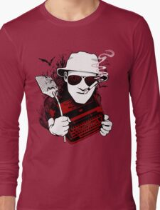 We Can't Stop Here - Homage to Hunter Thompson Long Sleeve T-Shirt