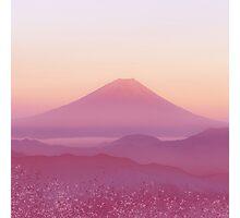 Mountain Sunset Photographic Print