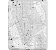 Vintage Map of New York City (1911) iPad Case/Skin