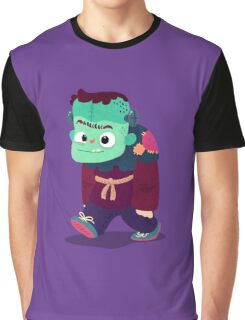 Halloween Kids - Frankenstein's Monster Graphic T-Shirt
