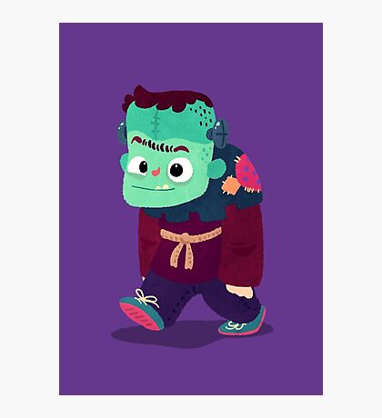 Halloween Kids - Frankenstein's Monster Photographic Print