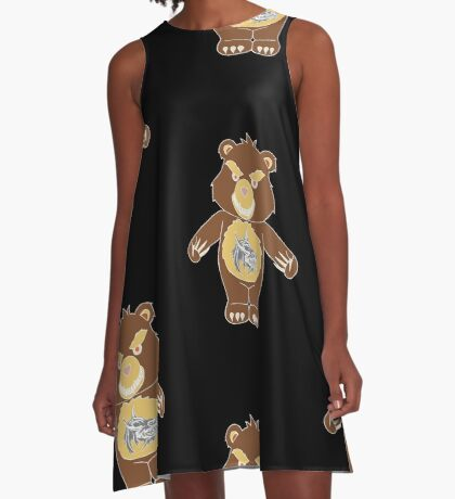 WereBear A-Line Dress