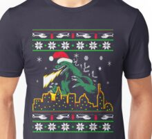 Ugly Christmas Sweater-Style Printed Tee Unisex T-Shirt