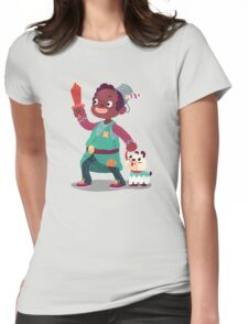 Halloween Kids - Knight Womens Fitted T-Shirt