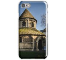 Holy Sepulchre, Cambridge iPhone Case/Skin