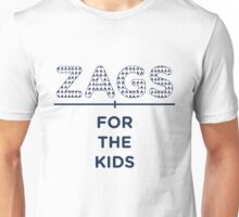 ZAGS FOR KIDS HORIZONTAL Unisex T-Shirt