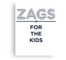 ZAGS FOR KIDS HORIZONTAL Canvas Print