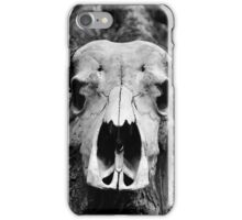 Cape Buffalo Skull iPhone Case/Skin