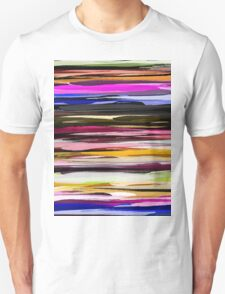 Watercolor Colored Abstract Background Unisex T-Shirt