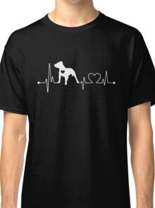 PITBULL HEARTBEAT Classic T-Shirt