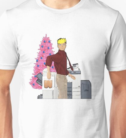 Christmas Office Party - Photocopier Fun! Unisex T-Shirt