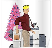 Christmas Office Party - Photocopier Fun! Poster