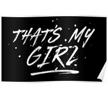 Fifth Harmony That's My Girl Official 7/27 Merch #5 ( White ) Poster