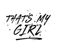 Fifth Harmony That's My Girl Official 7/27 Merch #5 ( Black ) Photographic Print