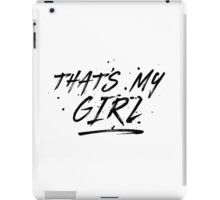 Fifth Harmony That's My Girl Official 7/27 Merch #5 ( Black ) iPad Case/Skin