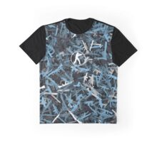 Counter Strike. Vulcan colors weapon Graphic T-Shirt