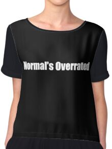 House MD - Normal's Overrated Chiffon Top