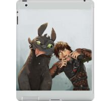 Two pals iPad Case/Skin