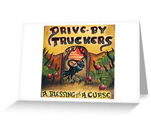 DRIVE BY TRUCKERS TOURS 2 Greeting Card
