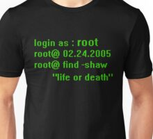 Root Person of Interest Unisex T-Shirt