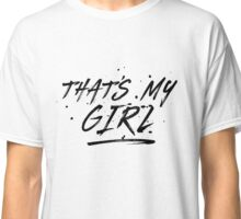 Fifth Harmony That's My Girl Official 7/27 Merch #5 ( Black ) Classic T-Shirt