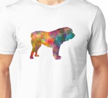 Central Asian Shepherd Dog in watercolor Unisex T-Shirt