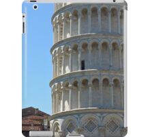 Leaning Tower in Piazza dei Miracoli (Square of Miracles), Pisa, Tuscany, Italy iPad Case/Skin