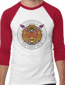 UNIVERSITY OF THE DAILY HUM Men's Baseball ¾ T-Shirt