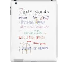 The Prophecy of Seven iPad Case/Skin