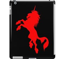 Red Unicorn by Cheerful Madness!! iPad Case/Skin