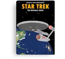 Star Trek - USS Enterprise NCC-1701 Canvas Print