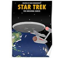 Star Trek - USS Enterprise NCC-1701 Poster