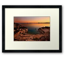 The Heraion of Perachora Framed Print