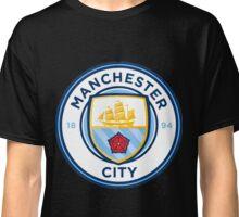 Manchester City Crest Classic T-Shirt