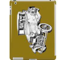 Model A Ford Roadster Antique Car Illustration iPad Case/Skin