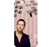 My Teenwolfed Valentine [We Hit On Those Who Hit On Us] iPhone Case/Skin