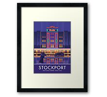 Stockport, Plaza Cinema Framed Print
