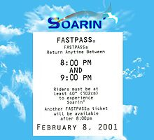 Soarin' FastPass by Margybear