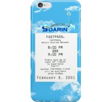 Soarin' FastPass iPhone Case/Skin