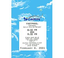 Soarin' FastPass Photographic Print