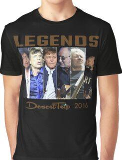 LEGENDS DESERT TRIP 2016 Graphic T-Shirt