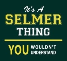 It's A SELMER thing, you wouldn't understand !! by satro