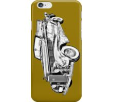 1938 Cadillac Lasalle Illustration iPhone Case/Skin