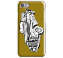 1938 Cadillac Lasalle Illustration iPhone Case/Skin
