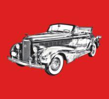 1938 Cadillac Lasalle Illustration T-Shirt