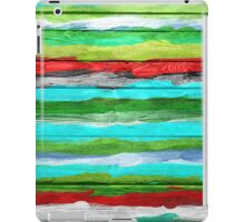 Watercolor Multicolor Abstract Background iPad Case/Skin
