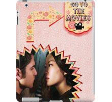 My Teenwolfed Valentine [Let's Go To The Movies] iPad Case/Skin