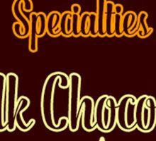 Honeydukes Chocolate - Milk!Version Sticker