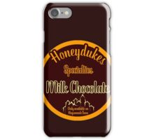 Honeydukes Chocolate - Milk!Version iPhone Case/Skin