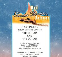 Thunder Mountain- Fastpass (#1) by Margybear